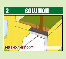 Defend Antiroot Polyster